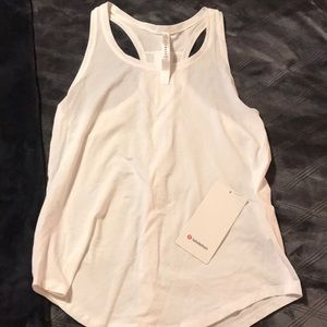 Lululemon Love Tank *Pleated, size 6, NWT!!